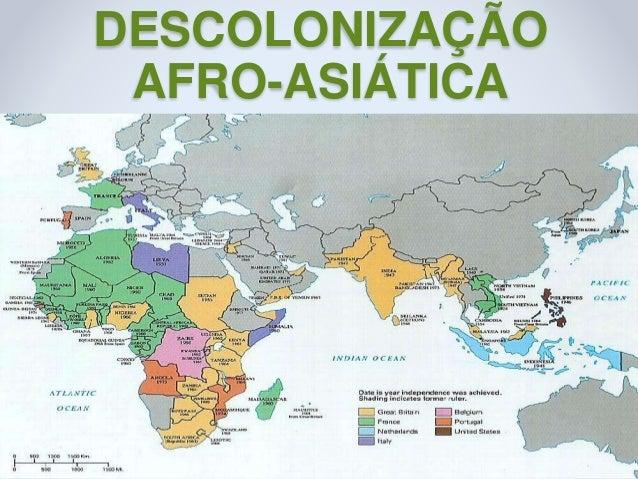 DESCOLONIZAÇÃO AFRO-ASIÁTICA 121/09/2016Prof.ª Valéria Fernandes