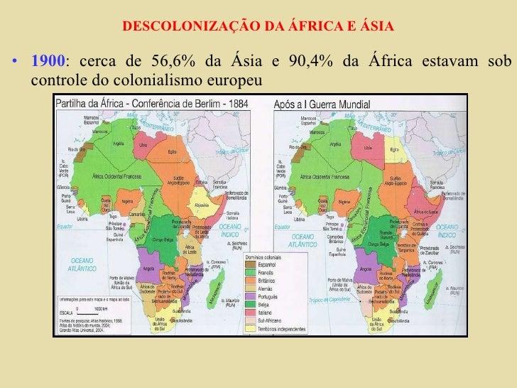 Descolonização da africa e asia china