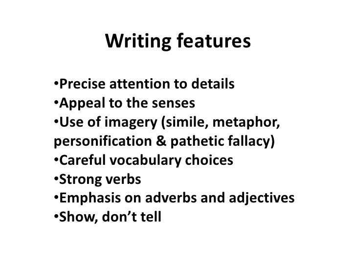 How to Write a Descriptive Essay: Elements of the Content and Writing Styles