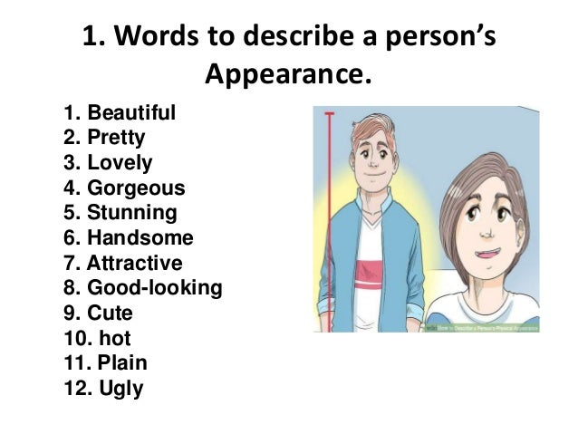 Words to describe a lovely person