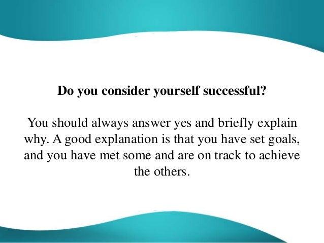 2. Do You Consider Yourself ...