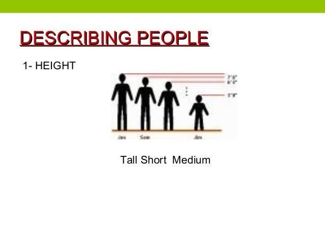 Describing people Slide 2
