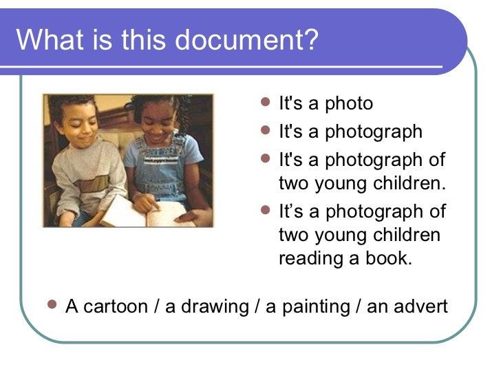 Describing Pictures Slide 2