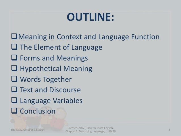 Describing Language Slide 2