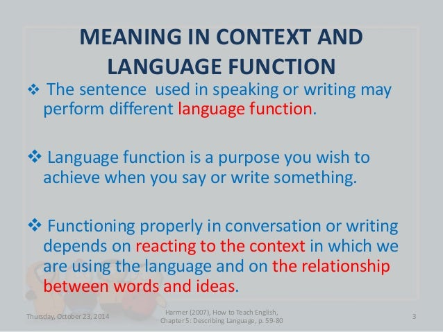 Describing Language Slide 3