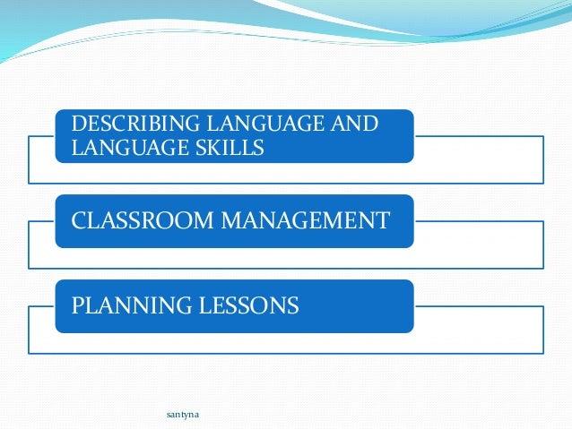 describing language and language skills