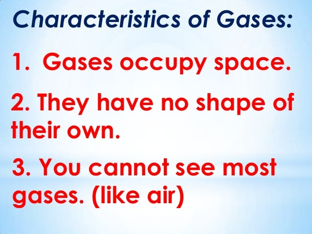 Gas Matter Pictures For Kids
