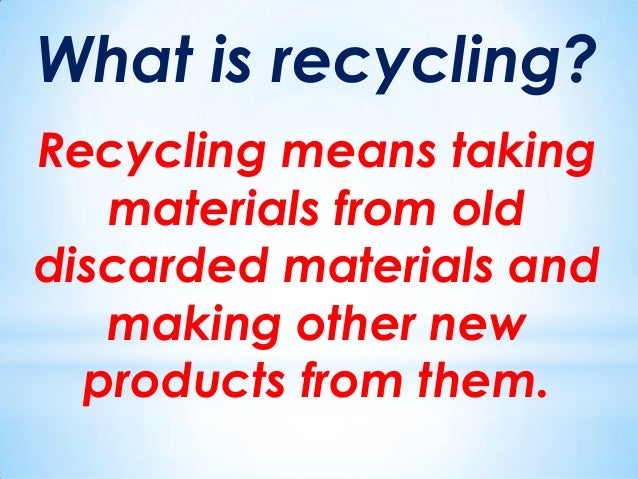 why we should recycle Did you know that in 2010 robert dyas, in partnership with recolight, provided  the first ever light bulb recycling service for consumers find out why recycling.