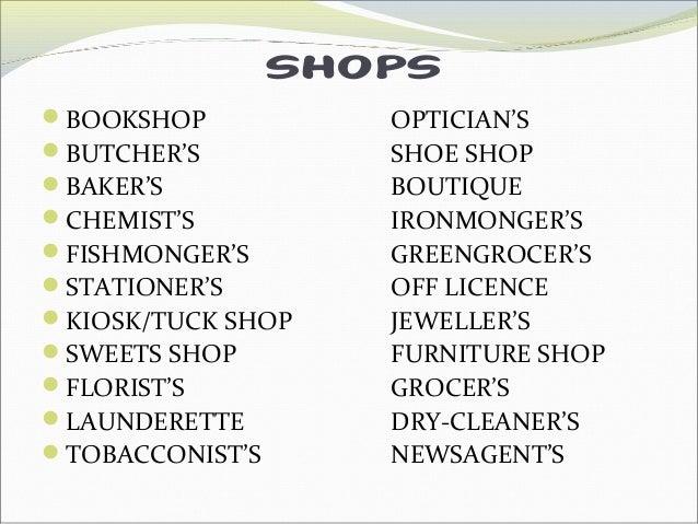 sweet shop descriptive writing