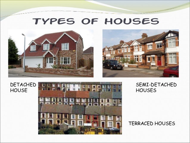 ... NEWSAGENT'S; 12. Types of houses ...