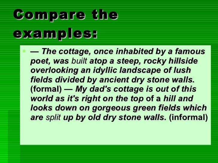 example of a descriptive essay about a place