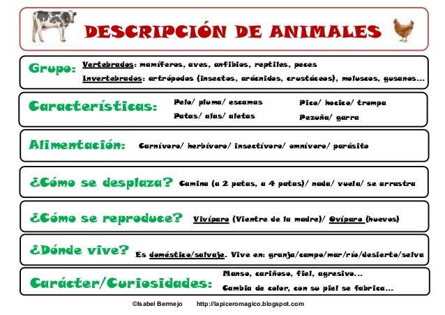 Descripci n de animales for Como hacer una granja de peces