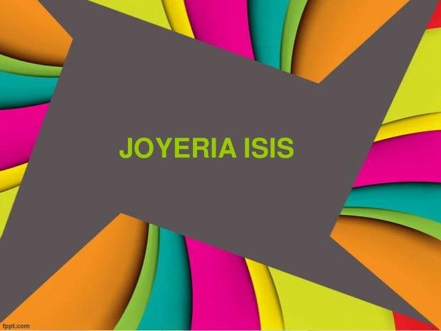 JOYERIA ISIS