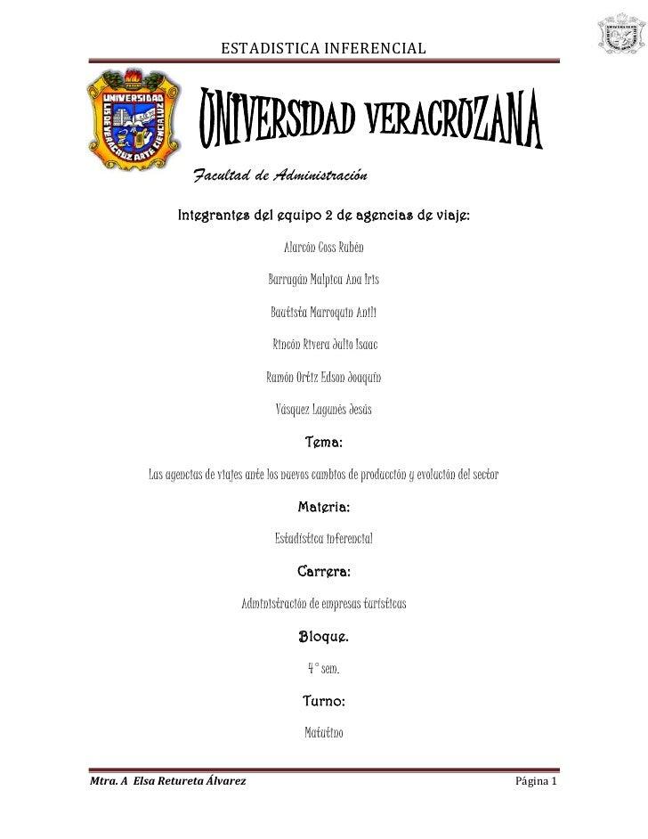 -51435-137795<br />Facultad de Administración<br />Integrantes del equipo 2 de agencias de viaje:<br />Alarcón Coss Rubén<...