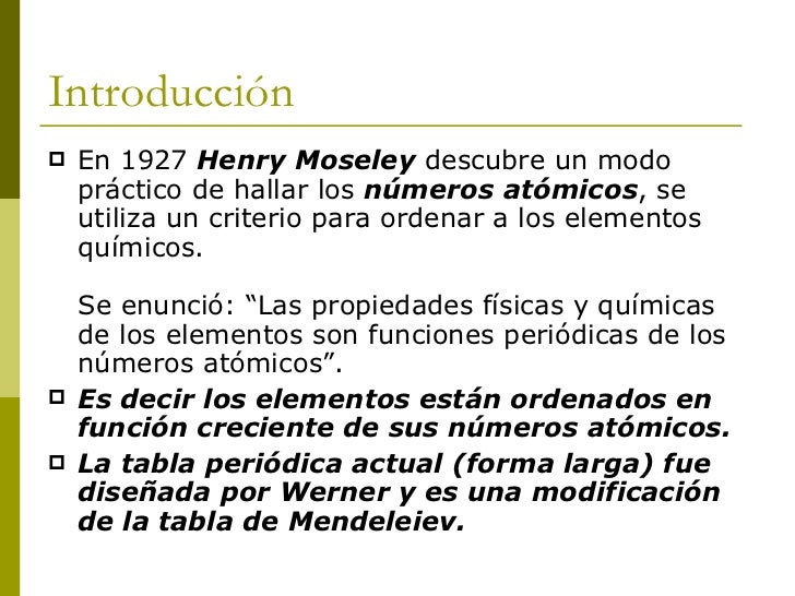 Descripcion de la tabla peridica tabla peridica actual 3 introduccin urtaz Gallery