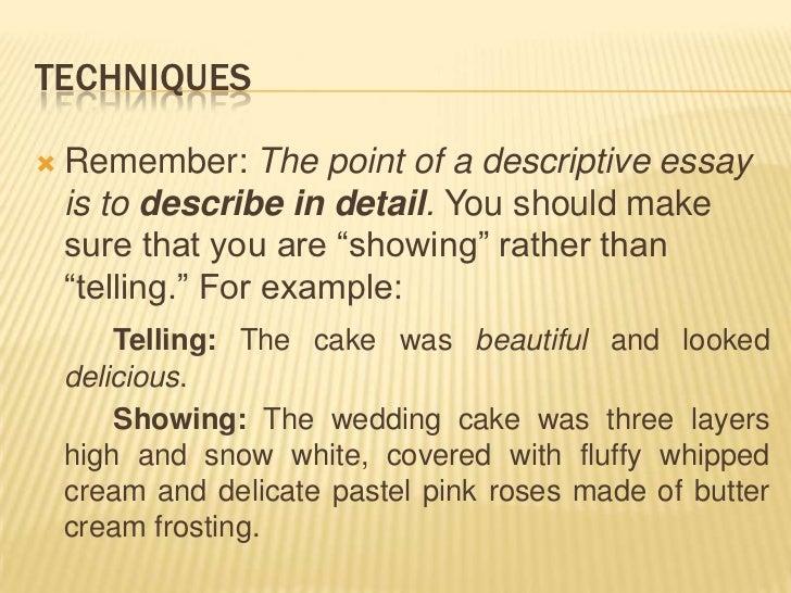 Winter descriptions essay