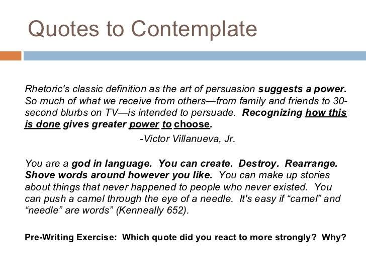 define persuasive rhetoric