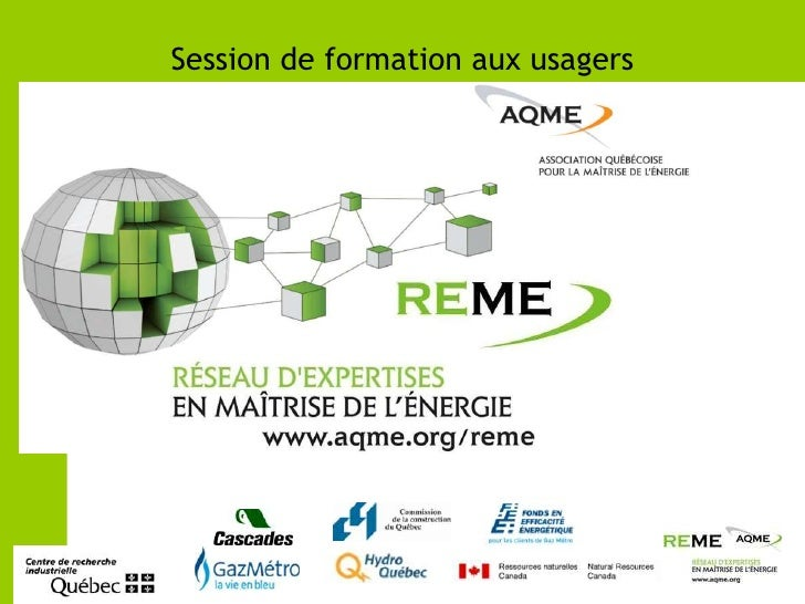 Session de formation aux usagers<br />