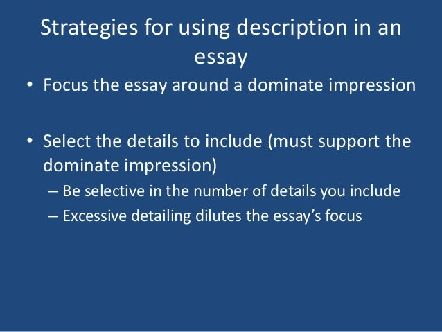 "desciption essay 1/09 clrc writing center structure of a personal narrative essay ""narrative"" is a term more commonly known as ""story"" narratives written for college or personal."