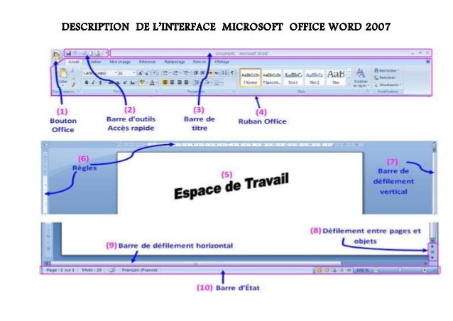 Description ms word 2007 description de linterface microsoft office word 2007 ccuart