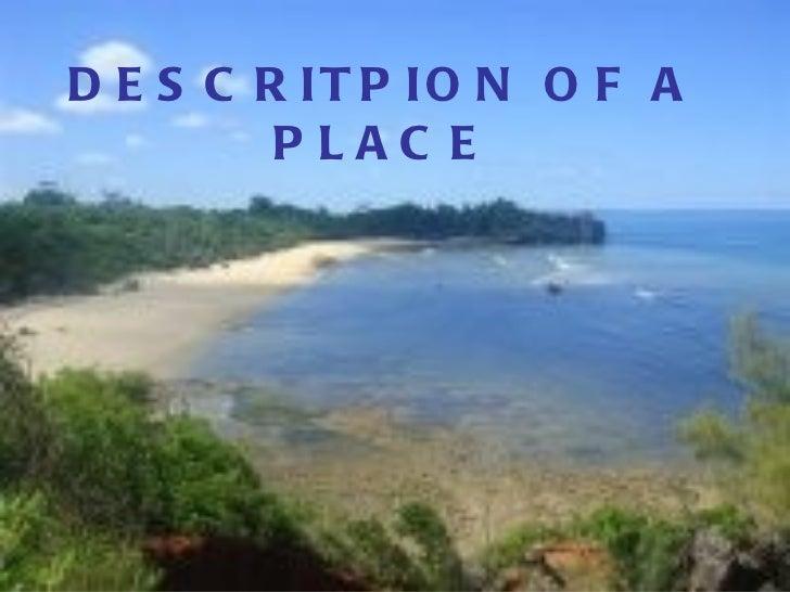 Description of a place
