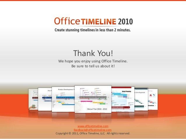 Description office timeline