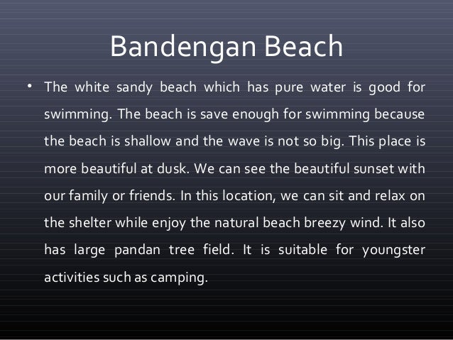 descriptive essay beach sunset