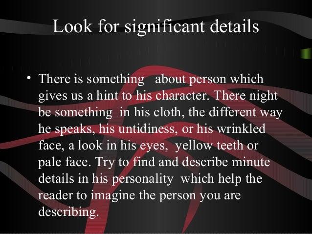Salt Lake Community College  Assessment Describing A Person In An  Paragraph Descriptive Essay About A Person Etusivu Describing