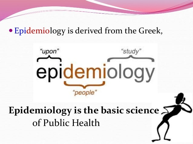 What Is Epidemiology? | NIDCD