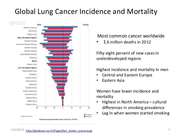 Descriptive Epidemiology of Lung Cancer of Respiratory rate icd 10