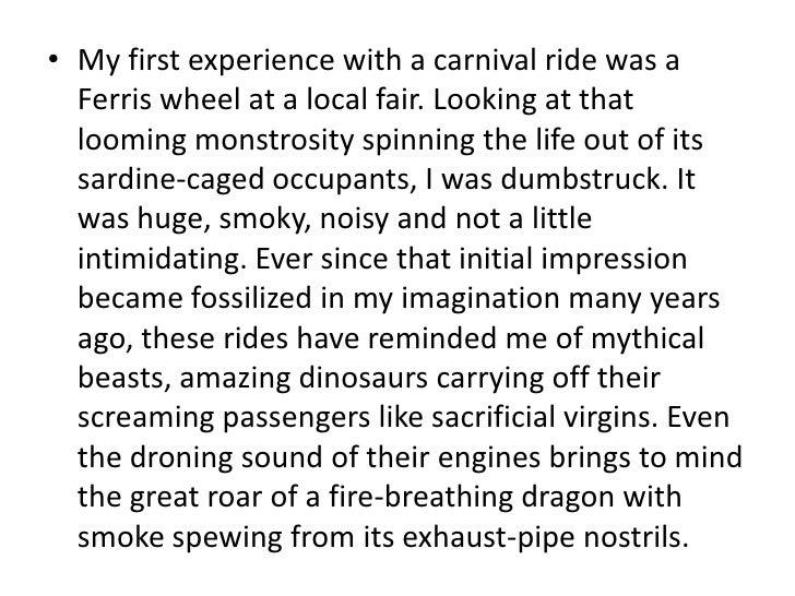 Carnival essays
