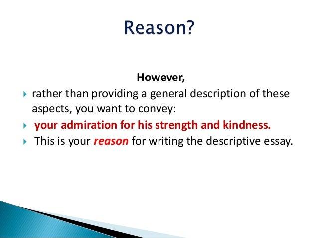 descriptive essay 8