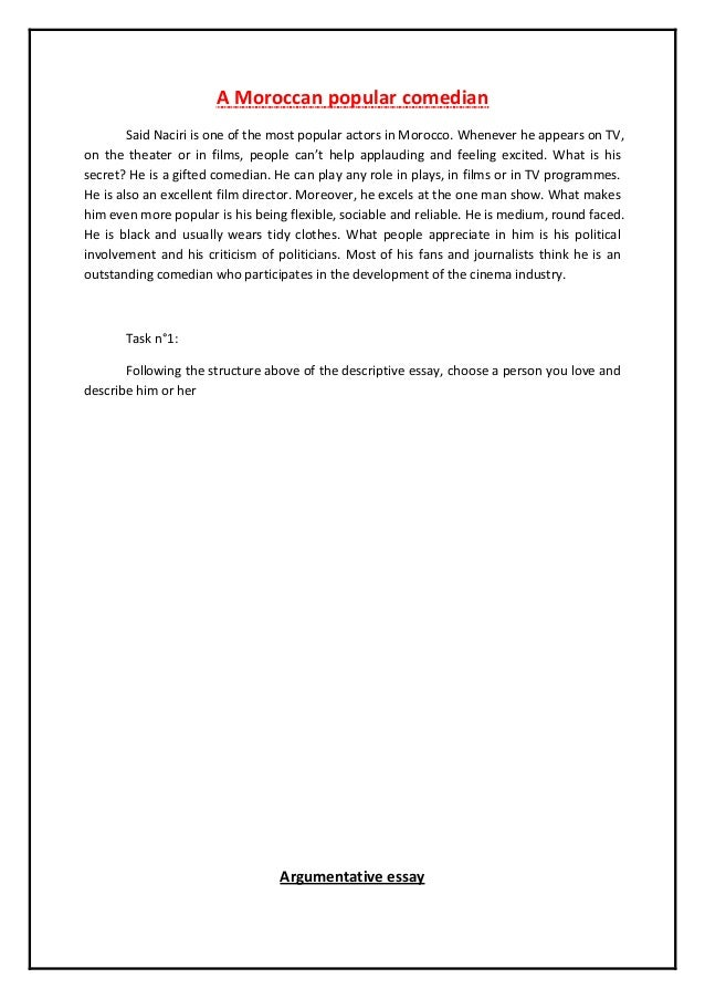 tips to write effectively descriptive and argumentative essay  example of a descriptive essay 3