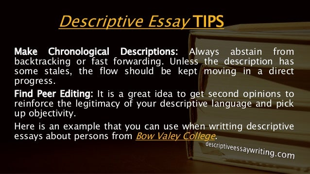 descriptive essay writing example topics outline descriptive essay