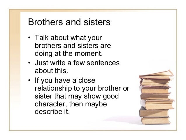 Brother essay