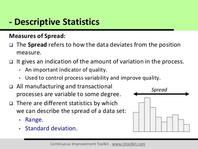 how to interpret descriptive statistics mean and standard deviation
