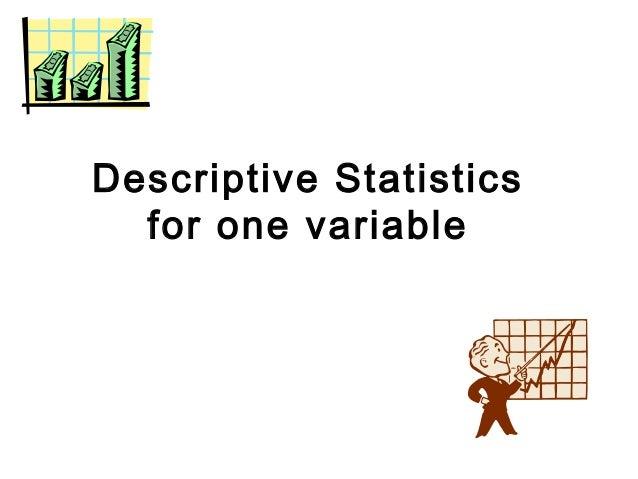Descriptive statistic article critique