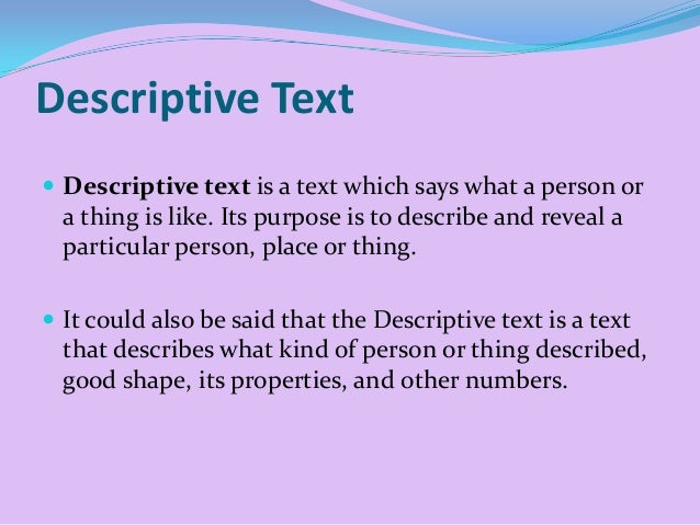 What is descriptive essay and its structure
