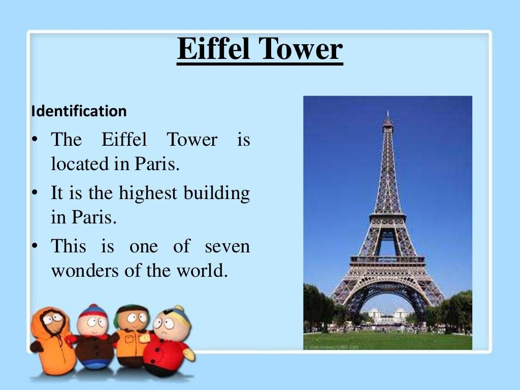 example descriptive text about place