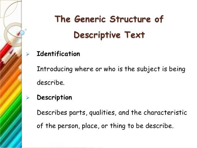 Descriptive Text Ppt
