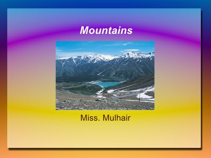 About me narrative essay mountain climbing