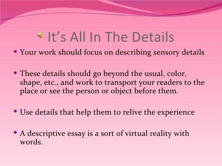 How to Write a Descriptive Essay: Useful Tips