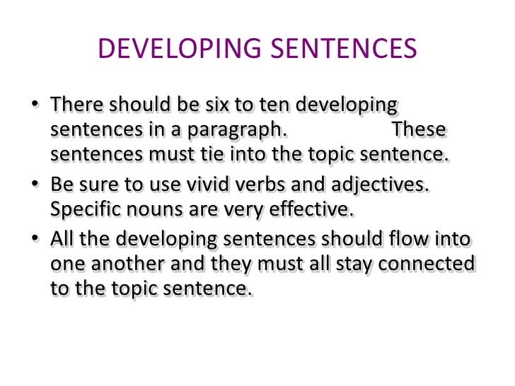 descriptive writing intro