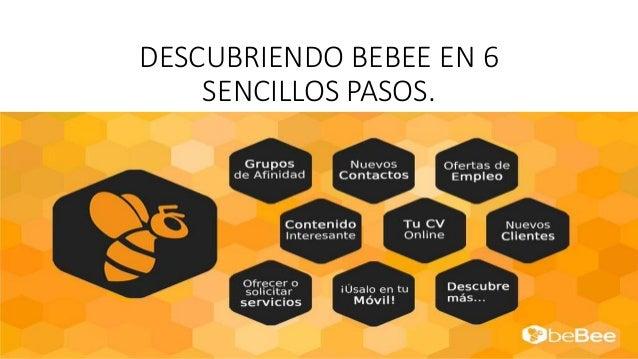 DESCUBRIENDO BEBEE EN 6 SENCILLOS PASOS.