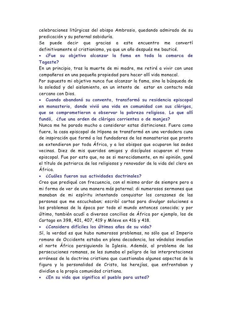 Descubriendo Los Misterios De San Agustin Slide 3