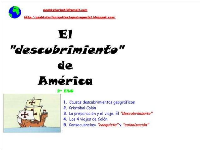 Descubrimiento de américa (gh23)
