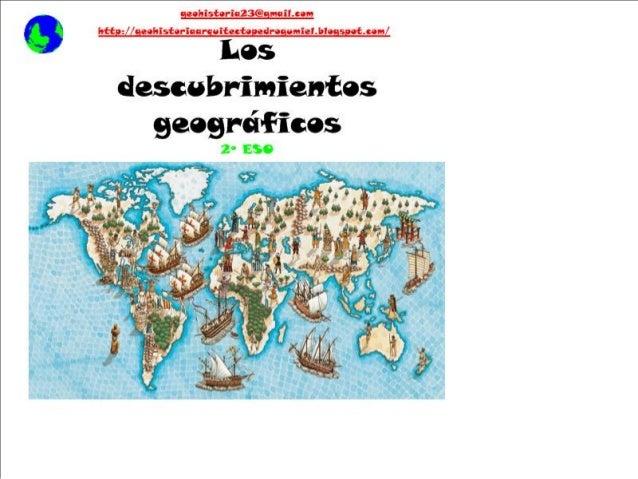 2ºESO Descubrimientos geográficos