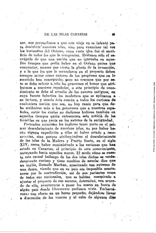 Descubrimiento Y Conquista De Las Islas Canarias 1ª Edicion Madrid 7