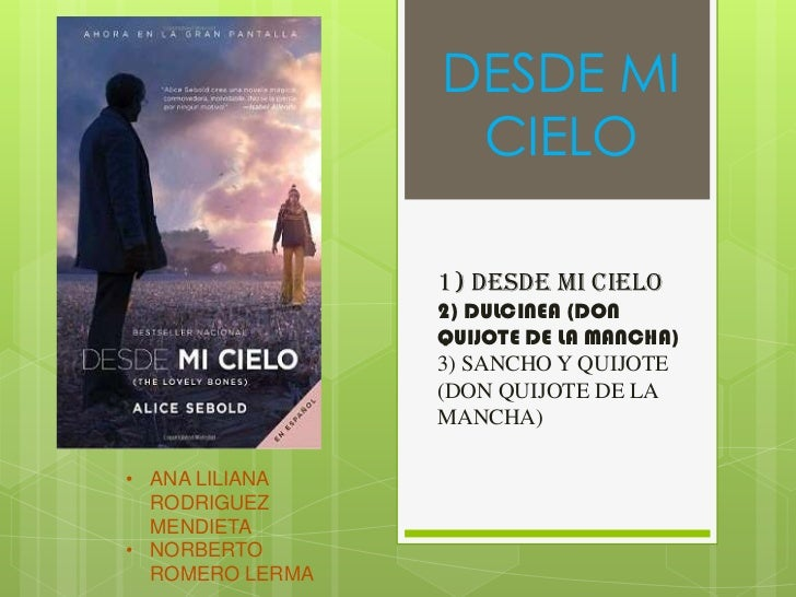 DESDE MI                  CIELO                 1) DESDE MI CIELO                 2) DULCINEA (DON                 QUIJOTE...