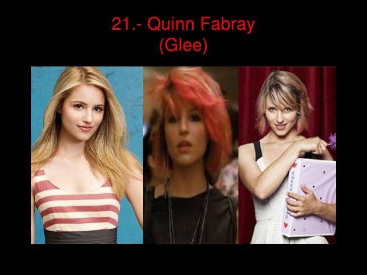 21.- QuinnFabray(Glee)<br />